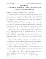 Khai thác kỹ thuật hệ thống phanh của xe CAMRY 3.5Q - Chương 3