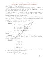 Tài liệu các dạng bài toán nâng cao lớp 7 docx