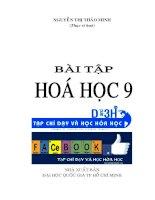 sách bài tập hóa học 9- nguyễn  thị thảo minh chương 1