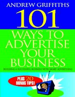 Tài liệu 101 Ways to Market Your Business 101 Survival Tips for Your Business pot