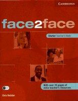 Face two face  - dành cho người bắt đầu học tiếng anh 1