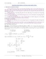 Tài liệu phương pháp bảo toàn điện tích trong hoá học doc