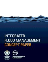 Tài liệu INTERGRATED FLOOD MANAGEMENT CONCEPT PAPER docx
