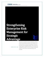 Tài liệu Strengthening Enterprise Risk Management for Strategic Advantage ppt