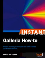 Tài liệu Instant Galleria How-to Recipes to make you an expert user of the Galleria JavaScript framework ppt