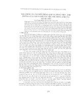 Tài liệu Báo cáo khoa học: Đặc điểm của âm tiết tiếng Anh và tiếng Việt- Ảnh hưởng của chúng đối với nói tiếng Anh của người Việt pptx