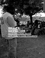 Tài liệu Health education: A practical guide for health care projects docx