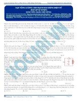 luyện thi đh kit 1 (đặng việt hùng) - nạp năng lượng của mạch dao động điện từ (bài tập tự luyện)
