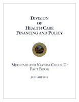 Tài liệu DIVISION OF HEALTH CARE FINANCING AND POLICY MEDICAID AND NEVADA CHECK UP FACT BOOK pdf