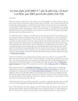 Tài liệu Ấn bản phân phối DB2 9.7 nào là phù hợp với bạn? pptx