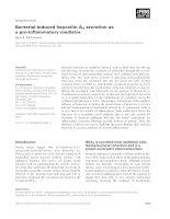 Tài liệu Báo cáo khoa học: Bacterial-induced hepoxilin A3 secretion as a pro-inflammatory mediator pptx