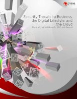 Tài liệu Security Threats to Business, the Digital Lifestyle, and the Cloud docx
