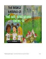 Tủ sách khám phá tập 4: Thế giới xung quanh chúng ta