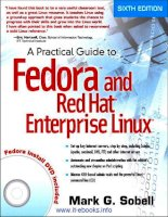 Tài liệu A Practical Guide to Fedora and Red Hat Enterprise Linux pdf