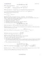 22 đề thi HK 2 lớp 11 môn toán