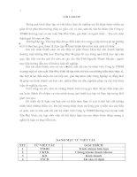 Tài liệu Đề tài: Nâng cao khả năng thanh toán tại công ty TNHH thương mại và sản xuất Tân Phú Vinh pptx