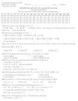 Tài liệu Trường Đại học Kinh tế Tp.HCM Khoa Toán - Đề thi thử ĐH pptx