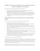 Tài liệu Nghiên cứu sâu về Ấn bản DB2 Advanced Enterprise Server, Phần 1: Quản lý hiệu năng và tối ưu hóa lưu trữ ppt
