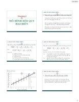 Tài liệu Mô hình hồi quy hai biến pdf