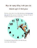 Tài liệu Học từ vựng tiếng Anh qua các thành ngữ về thời gian doc