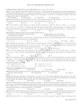 Tài liệu Đề Thi Thử Đại Học Khối A Vật Lý 2013 - Đề 35 pdf
