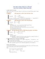 Xác định thành phần hỗn hợp dựa vào phương trình phản ứng