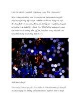 Tài liệu Làm thế nào để chụp ảnh Bokeh đẹp trong đêm Giáng sinh? pdf