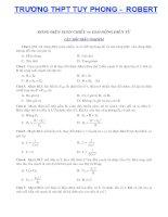 Tài liệu Tổng hợp một số bài toán về dao động điều hòa docx