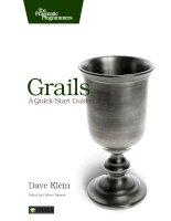 Tài liệu Grails: A Quick-Start Guide docx