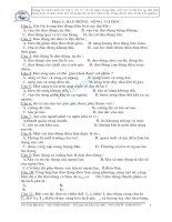 500 câu hỏi chắc nghiệm vật lý chọn lọc