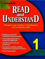 READ  & UNDERSTAND 1