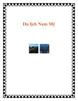 Tài liệu Du lịch Nam Mỹ pdf