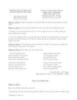 Tài liệu KÌ THI TUYỂN SINH LỚP 10 MÔN THI: NGỮ VĂN pot