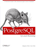 Tài liệu PostgreSQL: Up and Running pptx