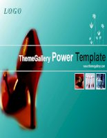 template powerpoint  325tgp fashion light