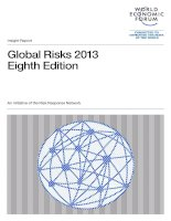 Tài liệu Global Risks 2013 Eighth Edition doc