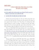 Tài liệu Chương 1: SỰ CẦN THIẾT XÂY DỰNG NHÀ CAO TẦNG Ở VIỆT NAM VÀ PHẠM VI ÁP DỤNG CỦA CHUYÊN ĐỀ pptx