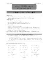 Bài tập giải tích 12 thầy Trần Sĩ Tùng