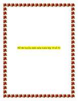 Tài liệu Đề thi tuyển sinh môn toán lớp 10 số 51 pptx