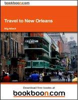 Tài liệu Travel to New Orleans doc