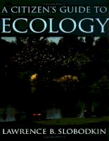 Tài liệu A Citizen''''s Guide to Ecology ppt