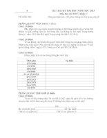 Tài liệu Đề Thi Thử Đại Học Khối C Sử 2013 - Phần 1 - Đề 4 ppt