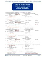 Bài tập câu điều kiện