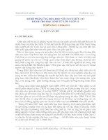 SƠ ĐỒ PHẢN ỨNG HÓA HỌC VÔ CƠ VÀ HỮU CƠ DÀNH CHO HỌC SINH TỪ LỚP 9 LỚP 12