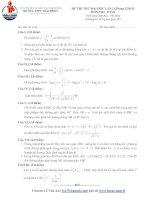 Tài liệu Tổng hợp đề thi thử ĐH môn Toán các khối Đề 57 pptx