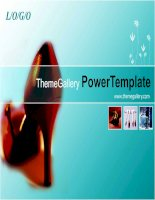 template powerpoint p059tgpx fashion
