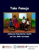 Tài liệu Adolescent Reproductive Health and Life Skills Curriculum pdf