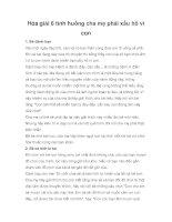 Tài liệu Hóa giải 6 tình huống cha mẹ phải xấu hổ vì con pot