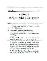 Tài liệu Bài tập chương 5 Thuế thu nhập doanh nghiệp potx