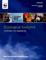 Tài liệu Ecological footprint of British city residents ppt